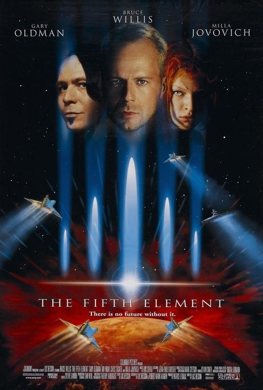 Пятый элемент 1997 - профессиональный