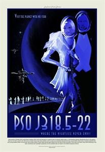 НАСА Космические путешествия, псож318 (NASA Space Travel Posters, posj318)