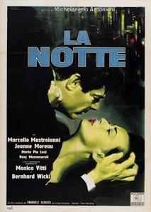 Ночь (La notte), Микеланджело Антониони