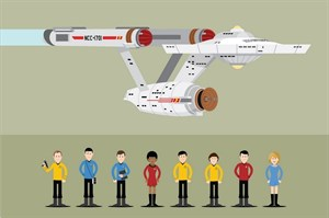 Звездный путь (Star Trek), Марк Дэниелс, Джозеф Пивни, Винсент МакЭвити